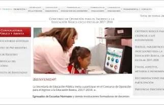 Convocatoria para el concurso de plazas docentes en educación básica 2017-2018