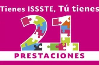 ¡Conoce las 21 prestaciones del ISSSTE!
