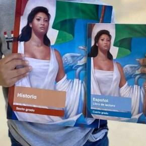 Libros de texto exprés y sin pago a creadores visuales