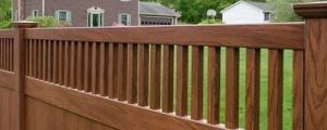 Grand Illusions WoodBond wood grain vinyl fence can be shipp throughout the country..........even Hawaii!