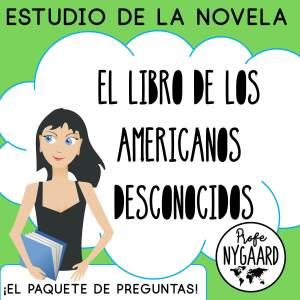 el libro de los americanos desconocidos el paquete de preguntas