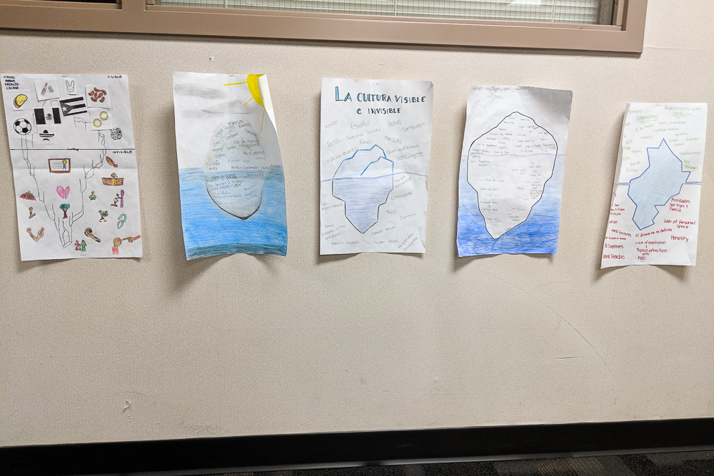 cultural iceberg posters