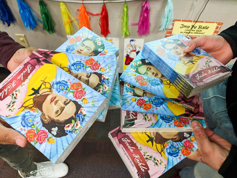 Frida Kahlo class set novel