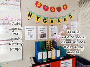teacher classroom tour