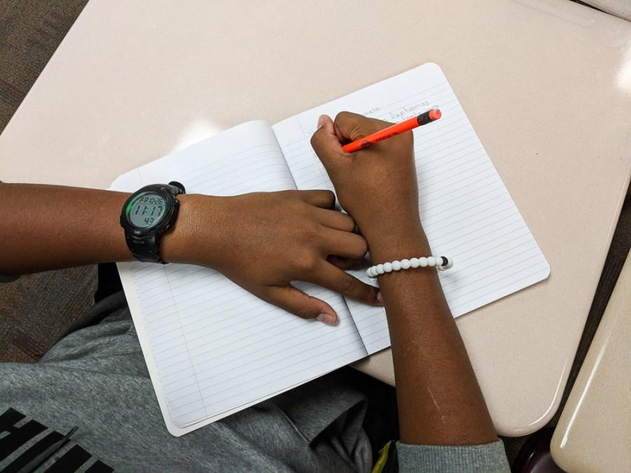 heritage spanish class writing