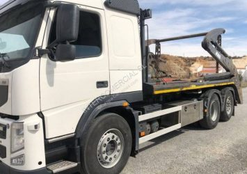 Camión portacontenedor de cadenas Volvo FM 420 Profesiolan 471