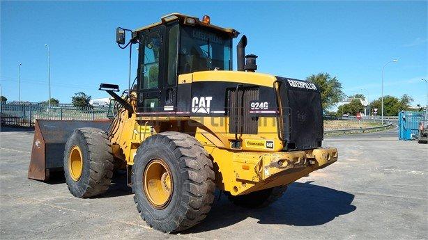 Pala cargadora Caterpillar 924G Profesiolan 104