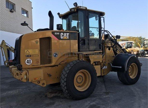 Pala cargadora Caterpillar 924H Profesiolan 112