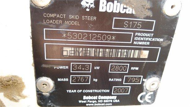 BOBCAT S175 Profesiolan 34