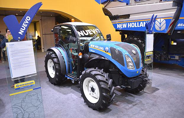 New Holland Presento En Fima Sus Nuevos Tractores T4fb