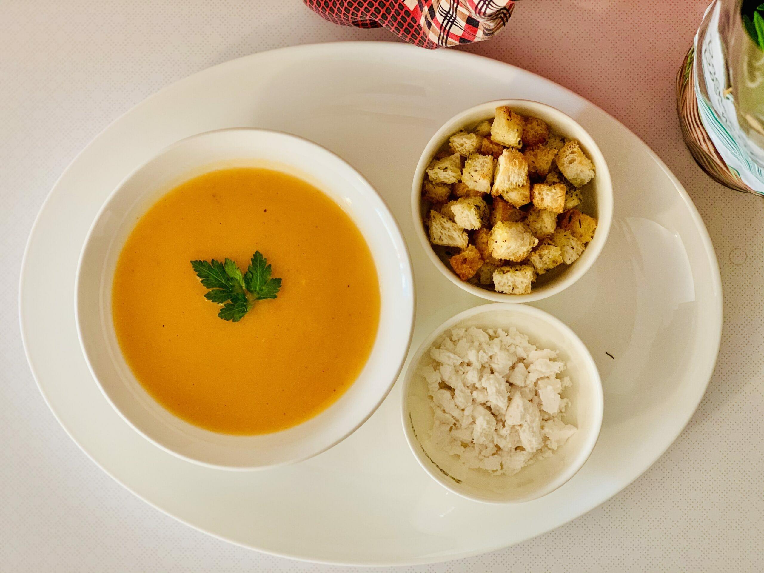 Оранжева супа