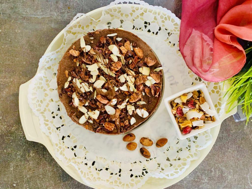 Суров шоколадово-бананов чийзкейк