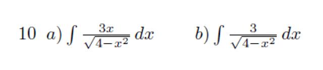 integral arcoseno resuelta solución