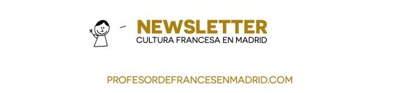 Abonnez-vous à la newsletter Profesordefrancesenmadrid.com