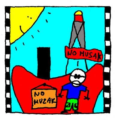 Un film espion présente Giorgio et son No Muzak.