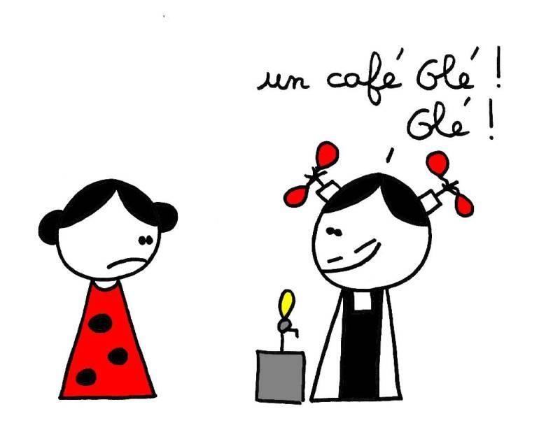 Un café Olé ! Olé !