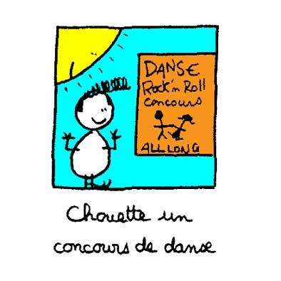 Chouette un concours de danse
