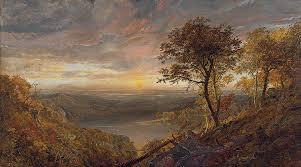 Jasper Francis Cropsey - Greenwood Lake (1870)