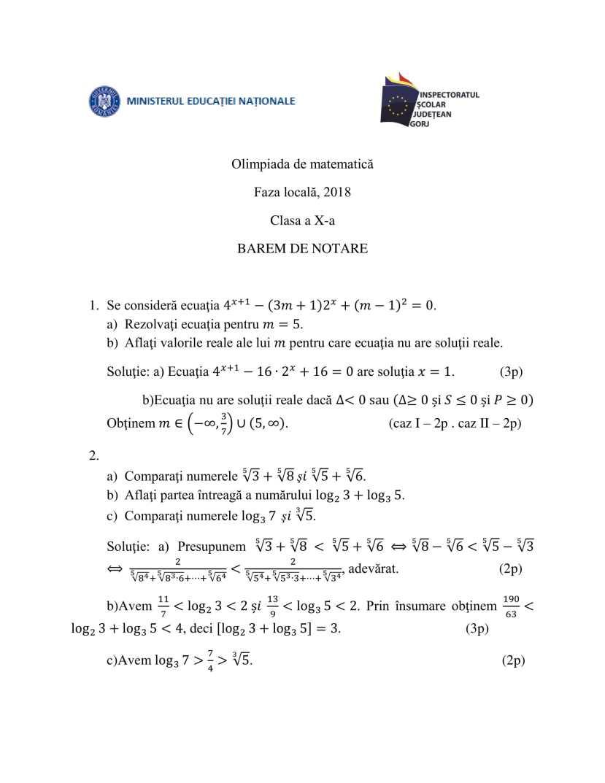 BAREM-OLM-2018-Gorj-clasa-a10a-1
