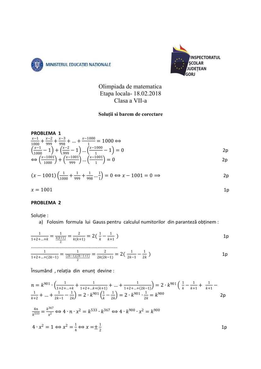 BAREM-OLM-2018-Gorj-clasa-a7a-1