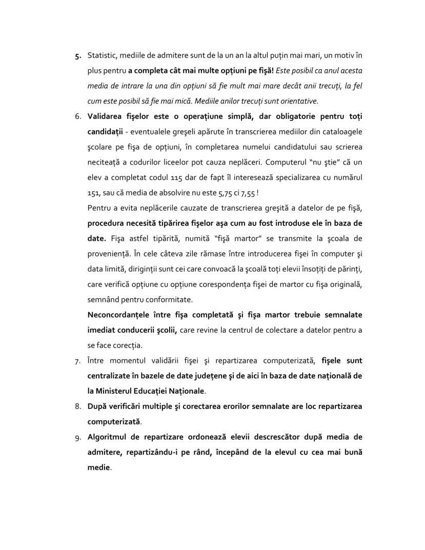 Ghidul admiterii computerizate v7.0-2