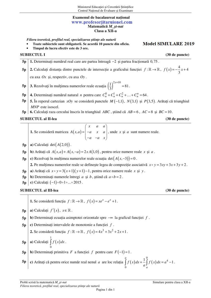 model-simulare-bac2019-sn-matematica-cls12-1