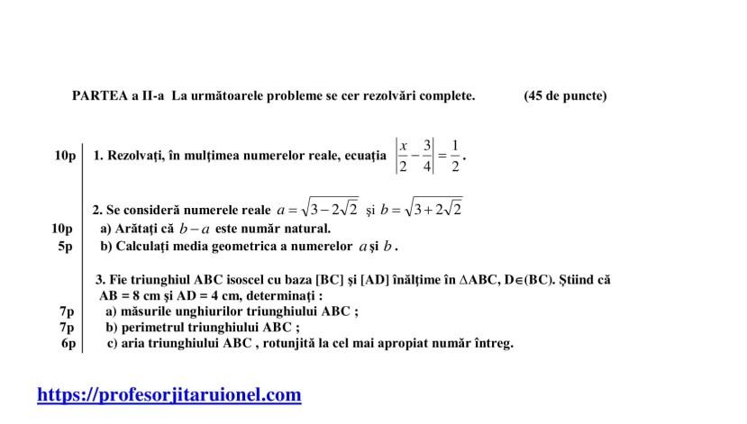 test-de-evaluare-intiala-clasa-a-8-a-matematica-2