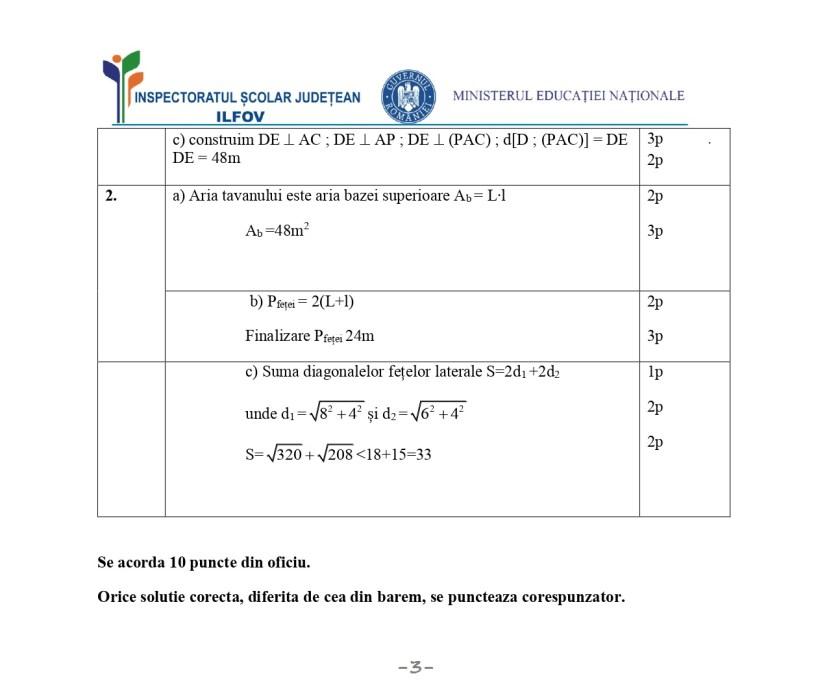 VARIANTA de Teză cu subiect unic -Matematică -clasa a 8-a -an școlar 2019-2020 -semestrul 1(TSU) -simulare5