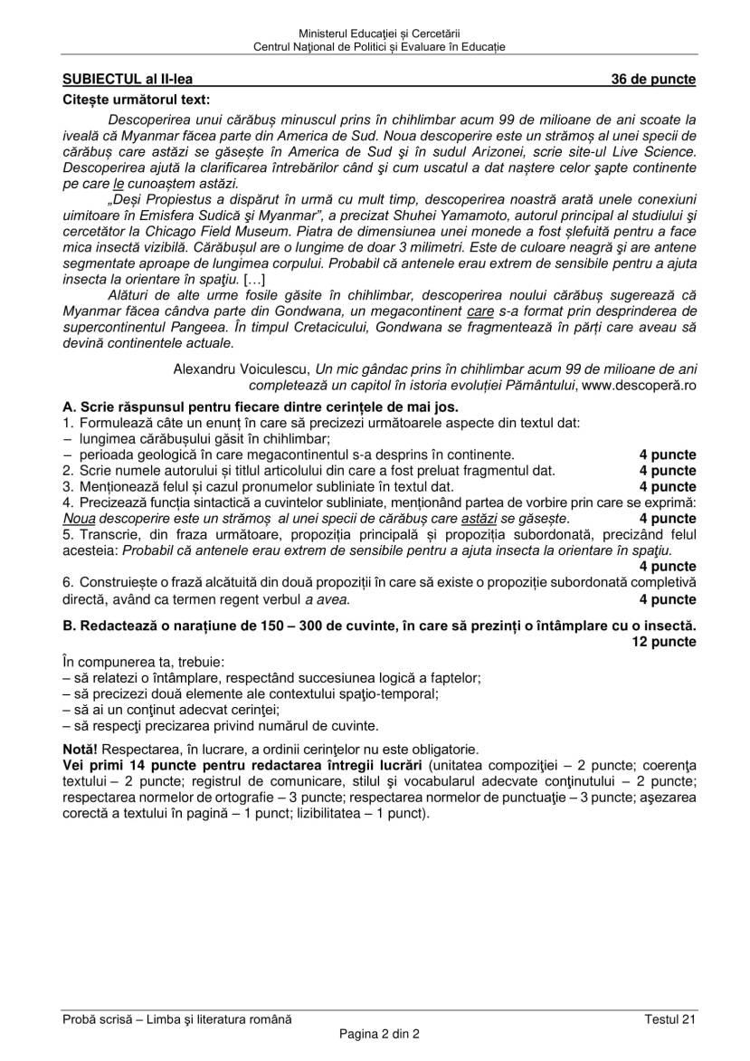 EN_VIII_Limba_romana_2020_Testul_21-2
