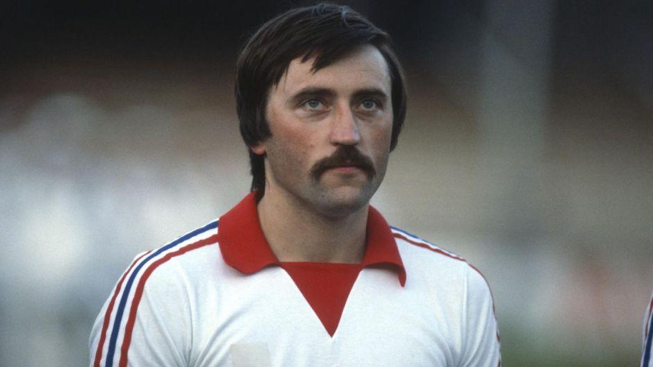 Jugador de fútbol checo Panenka