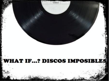 Disco de vinilo, discos de pop y rock