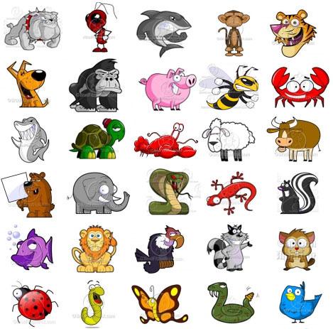 ejercicio vocabulario animales en Inglés