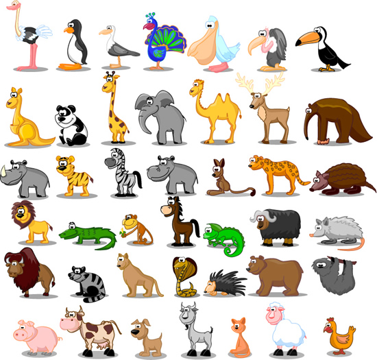 ejercicios describir animales en ingles