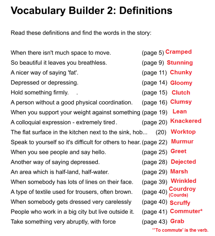 vocab builder 2