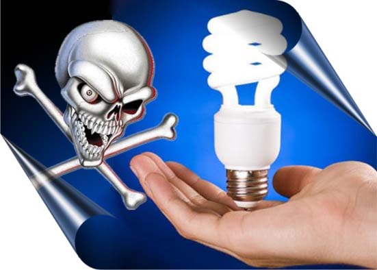 bombillas bajo consumo cancer