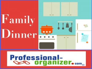 dinner organizing and family dinner