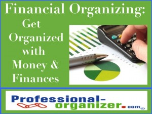 financial organizing