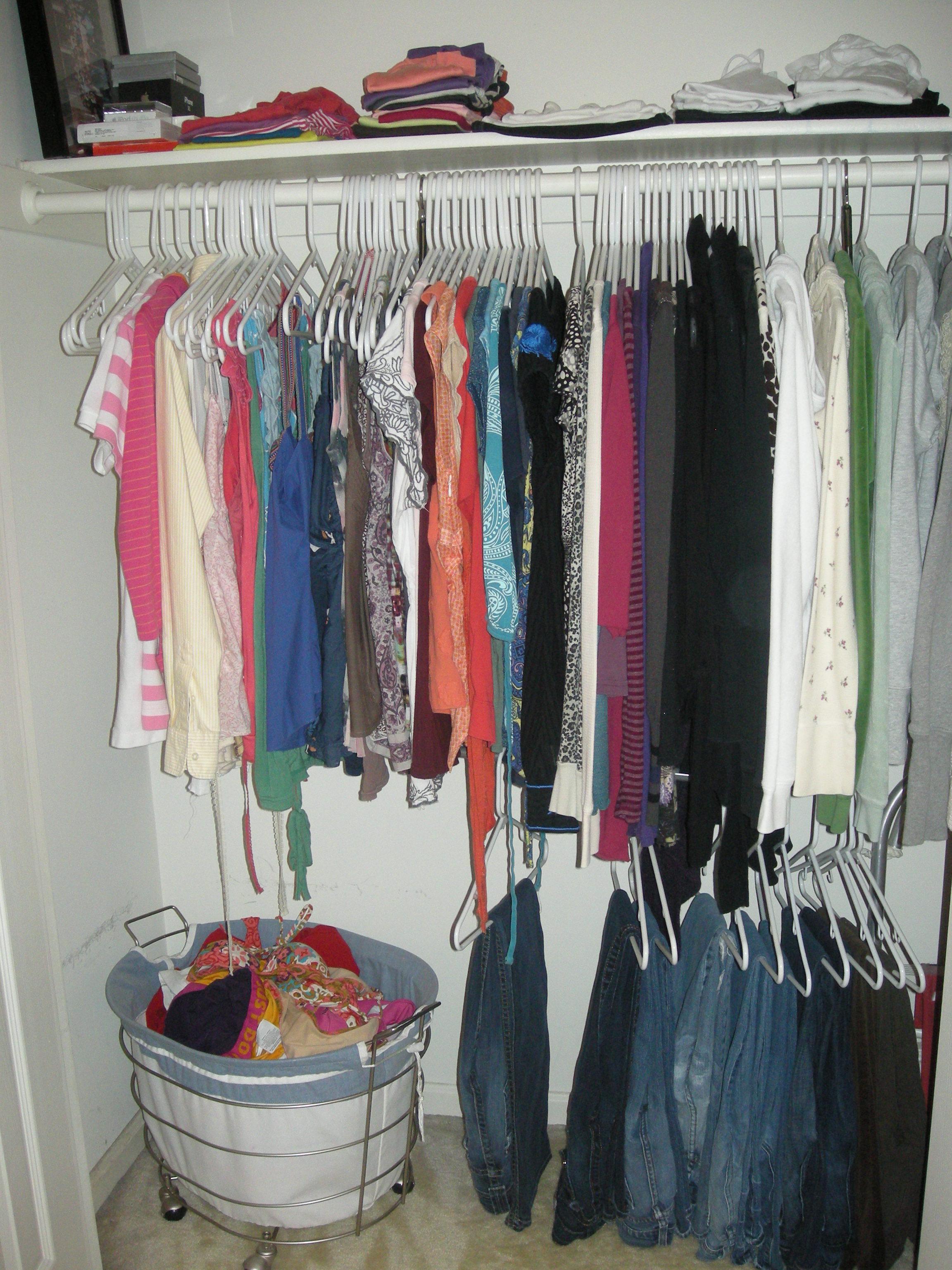No Clothes On The Floor And Order Inside Her Closet. I Asked Her About Her  Successful Organizing Techniques And What She Would Share With Other Teen  Girls, ...
