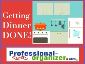 organizing your dinner plan