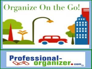 car organizing