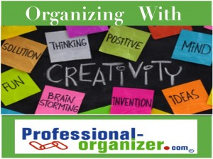 organizing and creativity