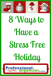 stress free holiday