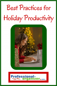best practices for holiday productivity in the office