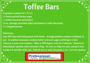 easy holiday toffee bars