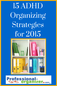 adhd organizing