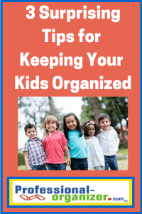 organizing your kids