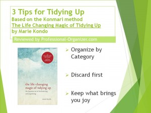 3 Tips for Tidying Up Konmari ++