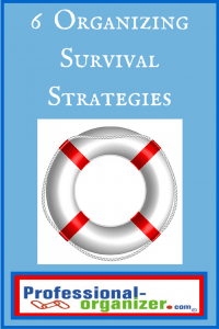 organizing survival strategies