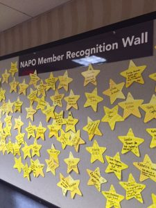 NAPO members shared recognition of our colleagues in a big way.