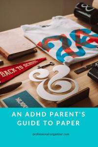 adhd parent paper